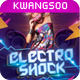 Electro Shock Flyer Template - GraphicRiver Item for Sale