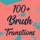 100+ Brush Transitions - VideoHive Item for Sale