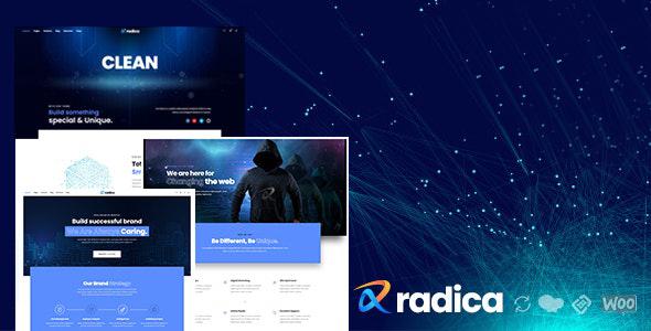 Radica - Creative MultiPurpose WordPress Theme