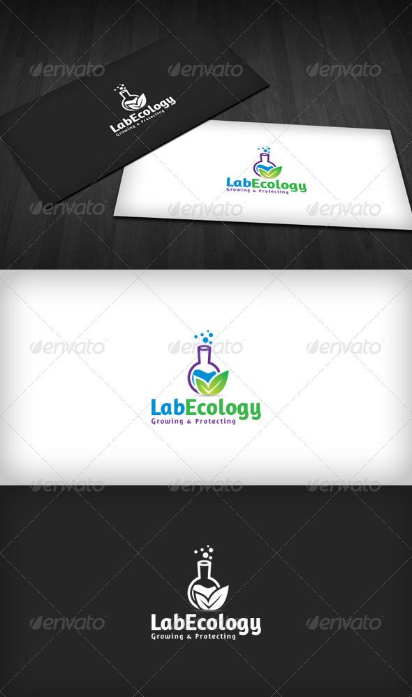 Lab Ecology Logo - Objects Logo Templates