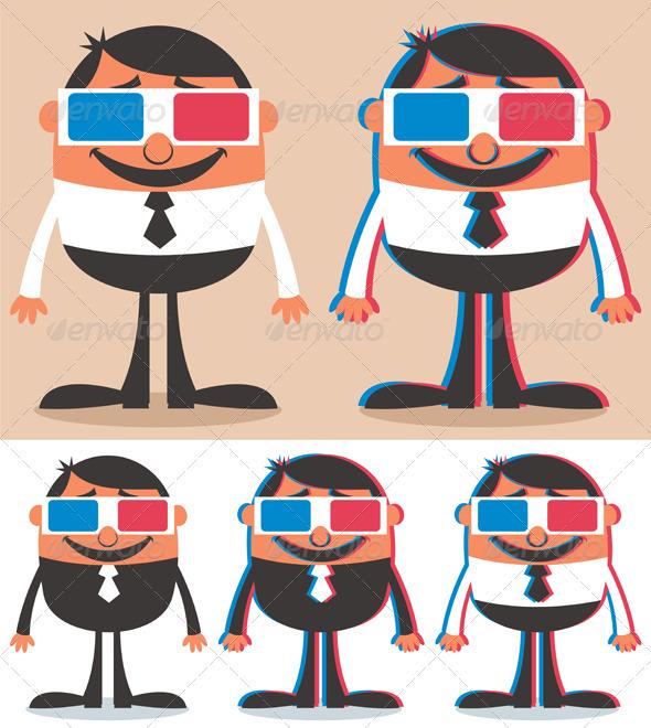 3D - Characters Vectors