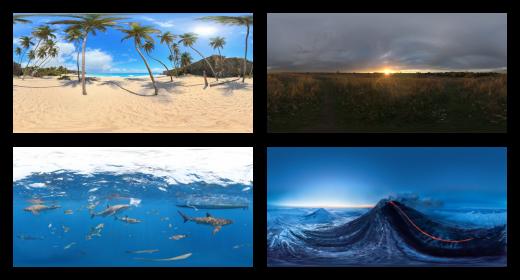 Environment Panoramas
