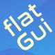 2d Flat GUI Kit