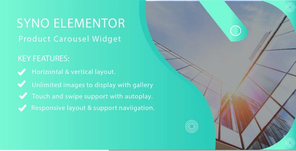 Syno Elementor Product Carousel