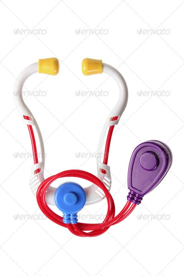 Toy Stethoscope - Stock Photo - Images