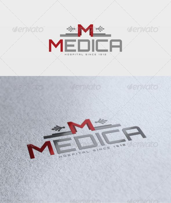 Medica Logo - Letters Logo Templates