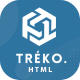 Treko - Startup and Software Landing Page template