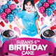 Kids Birthday Cake Flyer Invitation - GraphicRiver Item for Sale