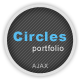Circles - Ajax Portfolio Template Nulled