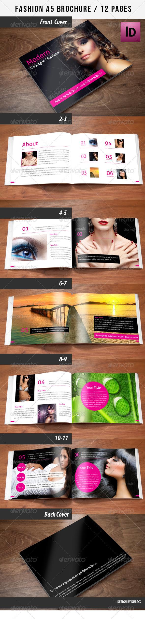 Fashion A5 Brochure - Catalogs Brochures