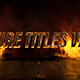 Fire Titles V2 - VideoHive Item for Sale
