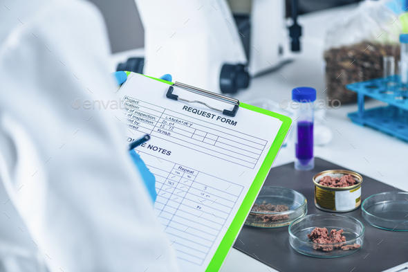 Pet Food Quality Control - Stock Photo - Images