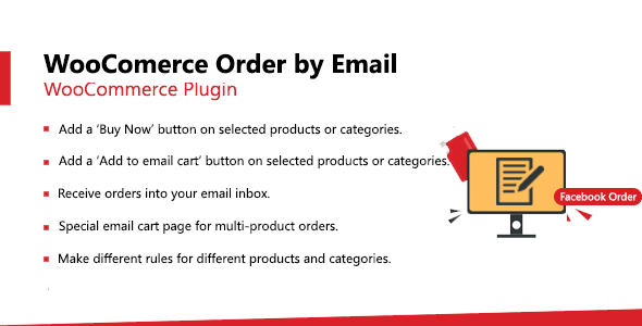 WooCommerce Email Order  - Instant Order by Email