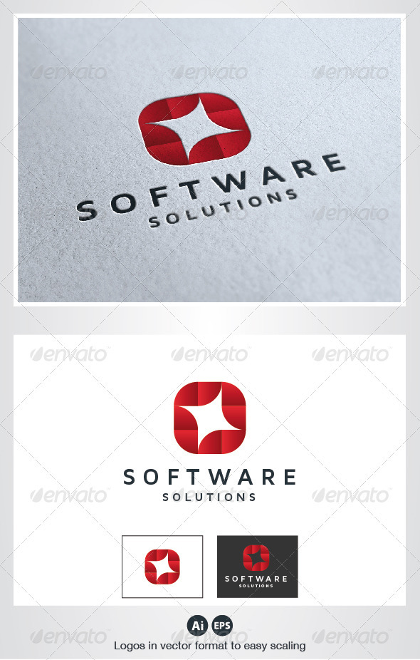 Software Logo - Abstract Logo Templates