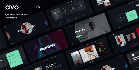 Avo – Creative Agency & Showcase Portfolio