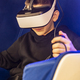 Child playing game with VR glasses. - PhotoDune Item for Sale
