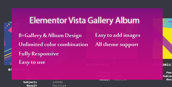 Elementor - Ultimate Gallery Album