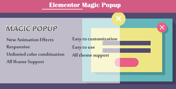 Elementor - Magic Popup