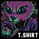 Ninja Style T-Shirt Design