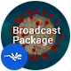 Coronavirus Broadcast Package | COVID-19 Pack - VideoHive Item for Sale
