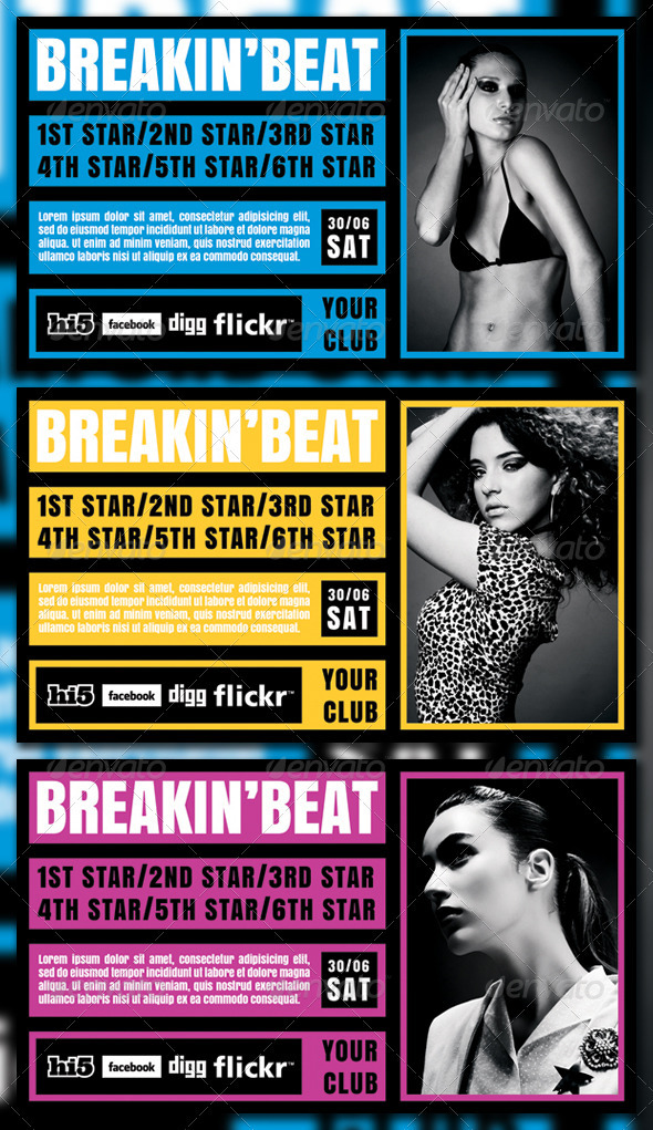 BREAKIN'BEAT - Clubs & Parties Events
