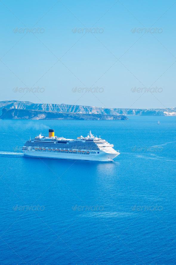 Cruise Ship - Stock Photo - Images