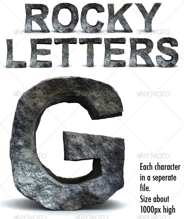Rocky Letters - Miscellaneous Graphics