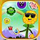 Bubble Shooter Unity Asset Reskin: Blossom Journey