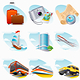 Travel icon - GraphicRiver Item for Sale