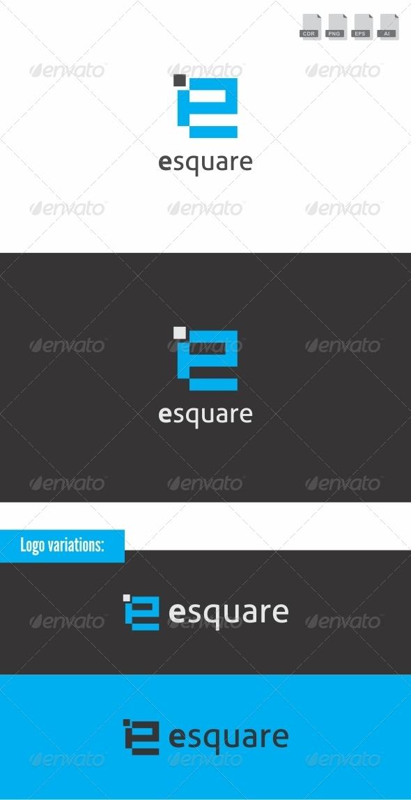 Esquare - Letters Logo Templates