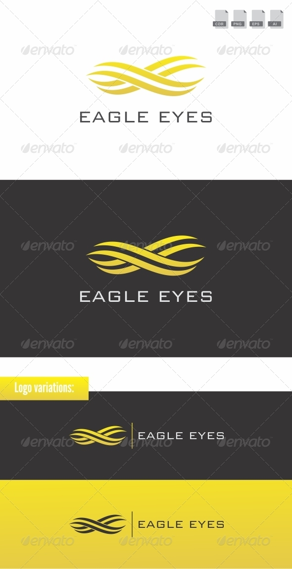 Eagle Eyes - Animals Logo Templates
