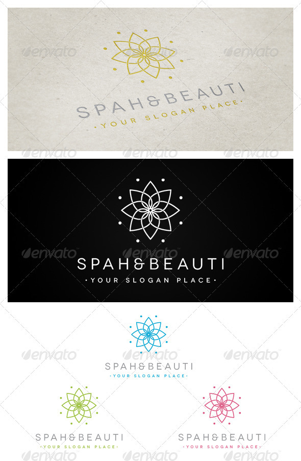 Spah & Beauti - Nature Logo Templates