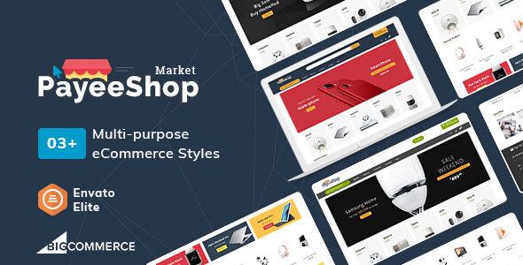 Payee Shop – Stencil BigCommerce Multi-Purpose Responsive Theme
