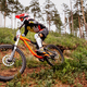 downhill mountain biker on forest trail - PhotoDune Item for Sale