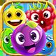 Match 3 Unity Asset Reskin: Fruits