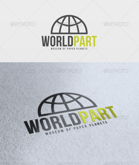 World Part Logo - Vector Abstract