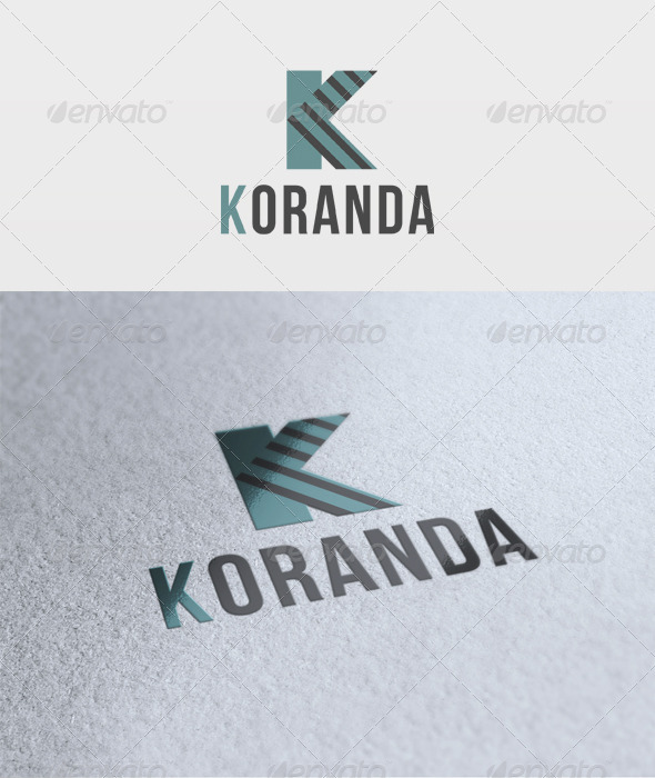 Koranda Logo - Letters Logo Templates