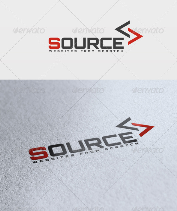 Source Logo - Letters Logo Templates