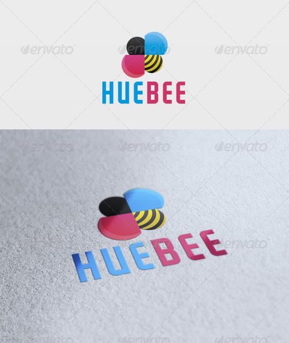 Hue Bee Logo - Symbols Logo Templates