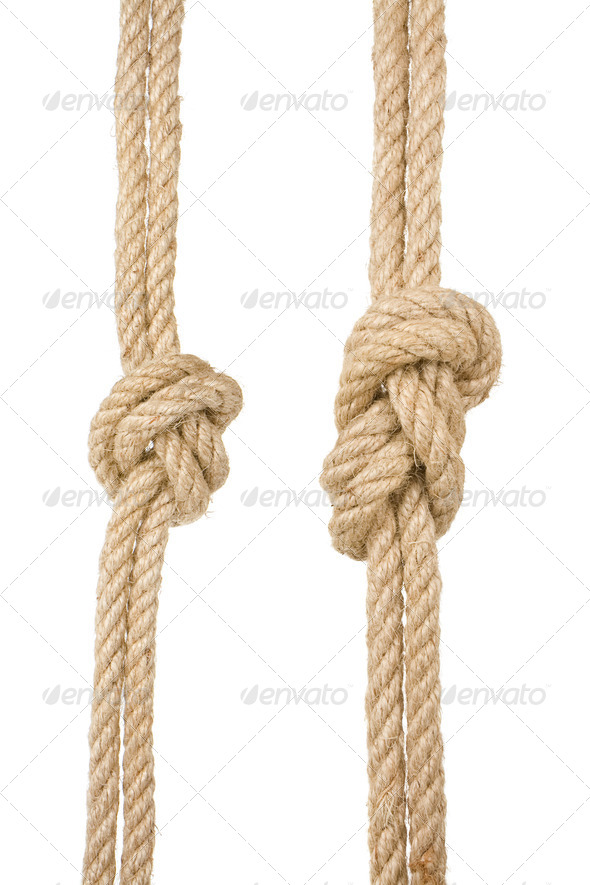 Ship rope - Stock Photo - Images