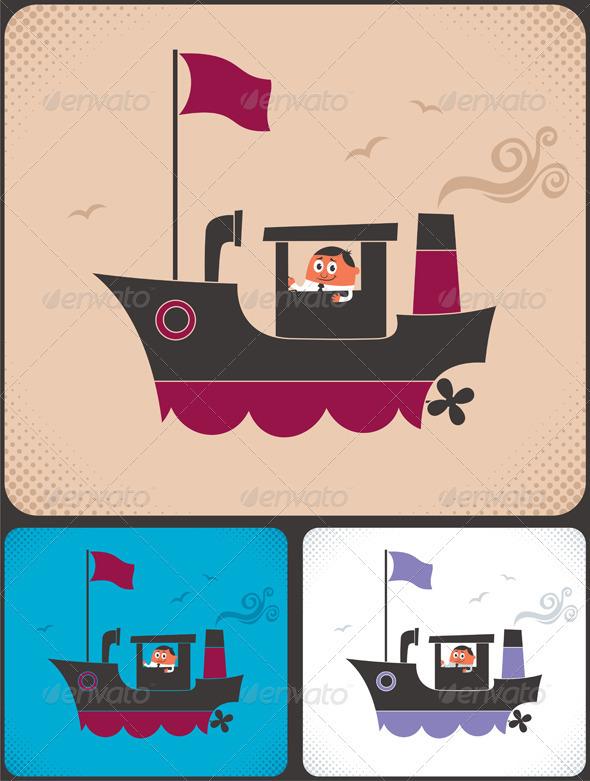 Ship Captain - Concepts Business