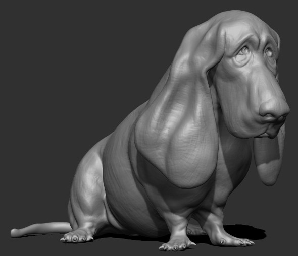 Dog Sculpt