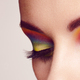 Female eye with  rainbow make-up - PhotoDune Item for Sale