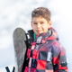 Portrait of Boy with Snowboard - PhotoDune Item for Sale