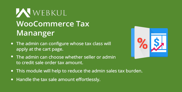 WooCommerce Marketplace Tax Manager