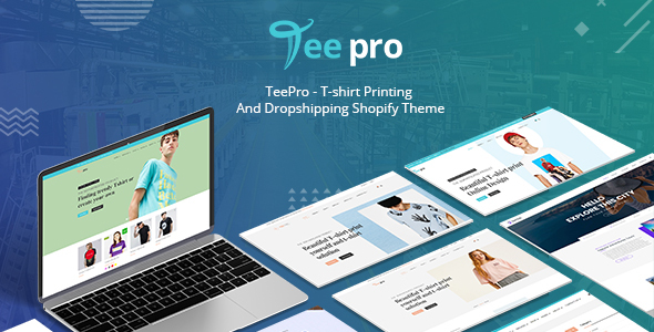 TEEPRO | Shopify T-shirt Theme with Online Designer App