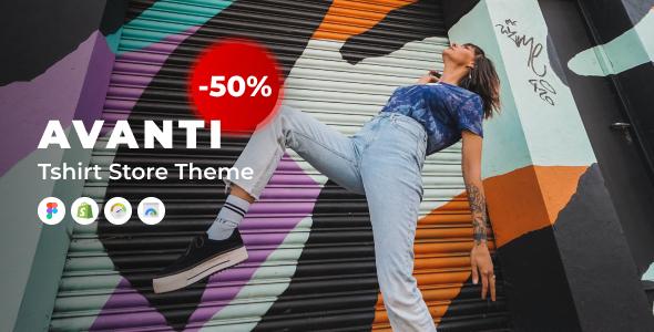 Avanti – Shopify Tshirt Store Theme