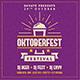 Oktoberfest Social Media Banner - VideoHive Item for Sale
