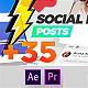 Social Posts Pack - VideoHive Item for Sale