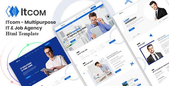 Trending ITcom - Multipurpose IT & Job Agency HTML Template